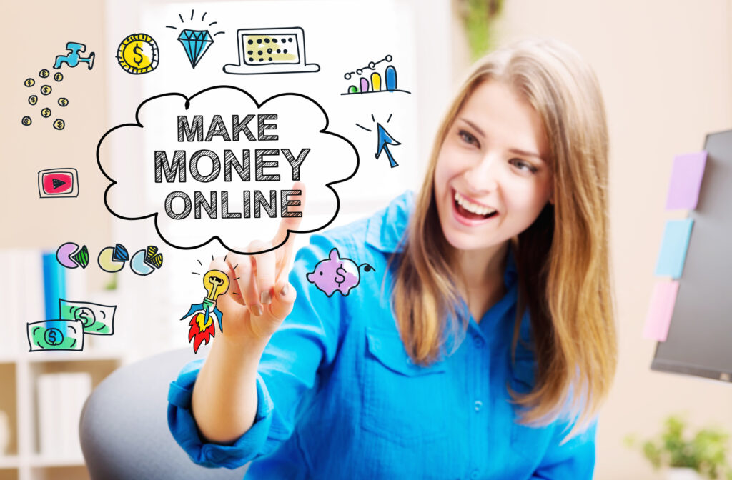 Get Rich: 4 Ideas for How to Make Money Online
